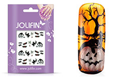 Jolifin Halloween Nailart Tattoo Nr. 9