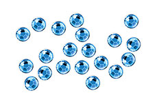 Jolifin Nailart Kristalle aqua blue