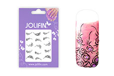 Jolifin Nailart Tattoos black and white Nr. 3