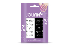 Jolifin Nailart Tattoos black and white Nr. 4