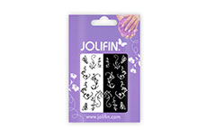 Jolifin Nailart Tattoos black and white Nr. 6
