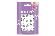 Jolifin Nailart Tattoos black and white Nr. 7