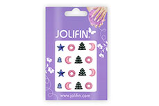 Jolifin X-Mas Nailart Tattoo Nr. 12