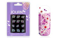 Jolifin Nailart Twinkle Stone Sticker Nr. 7
