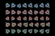 Jolifin Nailart Twinkle Stone Sticker Nr. 9