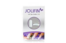 Jolifin 100er Tipbox clear