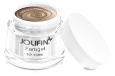 Jolifin Farbgel 4plus silk stone 5ml