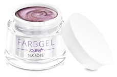 Jolifin Farbgel 4plus silk rosé 5ml