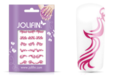Jolifin Fancy Nail Sticker pink 5