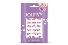 Jolifin Fancy Nail Sticker pink 5