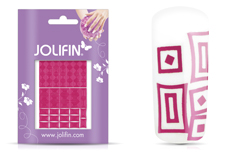 Jolifin Fancy Nail Sticker pink 6