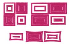 Jolifin Fancy Nail Sticker pink 6