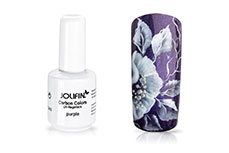 Jolifin Carbon Colors UV-Nagellack purple 14ml