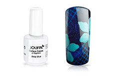 Jolifin Carbon Colors UV-Nagellack deep blue 14ml