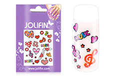 Jolifin Girlie Nailart Sticker Nr. 2