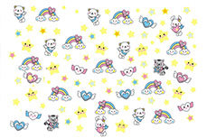 Jolifin Girlie Nailart Sticker Nr. 3