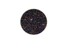 Jolifin Acryl Farbpulver black Glitter 5g