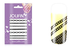Jolifin Nailart Jewelry Sticker black 2