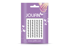 Jolifin Nailart Jewelry Sticker black 3