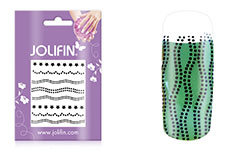 Jolifin Nailart Jewelry Sticker black 4