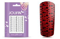 Jolifin Nailart Jewelry Sticker black 5