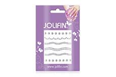 Jolifin Nailart Jewelry Sticker silver 4