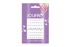 Jolifin Nailart Jewelry Sticker silver 5