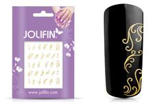 Jolifin Nailart Jewelry Sticker gold 1