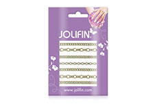 Jolifin Nailart Jewelry Sticker gold 2