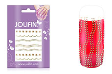 Jolifin Nailart Jewelry Sticker gold 4