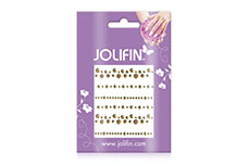 Jolifin Nailart Jewelry Sticker gold 5