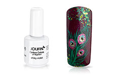Jolifin Carbon Colors UV-Nagellack shiny violet 14ml
