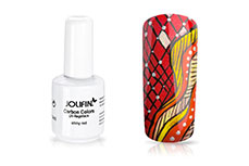 Jolifin Carbon Colors UV-Nagellack shiny red 11ml