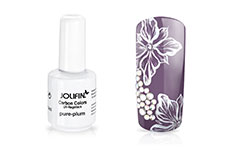 Jolifin Carbon Colors UV-Nagellack pure-plum 11ml