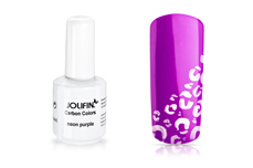 Jolifin Carbon Colors UV-Nagellack neon purple 11ml
