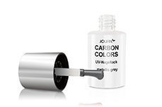 Jolifin Carbon Quick-Farbgel - metallic grey 14ml