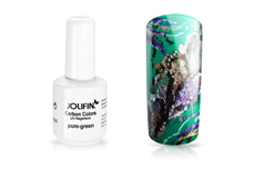 Jolifin Carbon Colors UV-Nagellack pure-green 11ml
