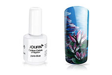 Jolifin Carbon Colors UV-Nagellack pure-blue 14ml