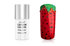 Jolifin Carbon Colors UV-Nagellack cornpoppy red 11ml
