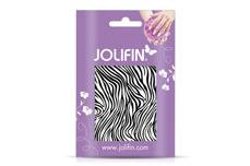 Jolifin Cracked Nailart Folie black 4