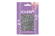 Jolifin Cracked Nailart Folie black 5