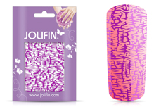 Jolifin Cracked Nailart Folie purple 2