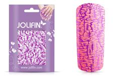 Jolifin Cracked Nailart Folie purple 2