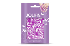 Jolifin Cracked Nailart Folie purple 4