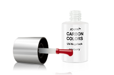 Jolifin Carbon Colors UV-Nagellack cranberry 11ml