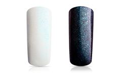 Jolifin Carbon Effect-Coat blue glitter 14ml