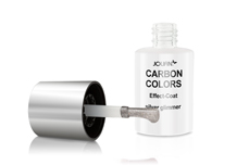 Jolifin Carbon Effect-Coat silver glimmer 14ml