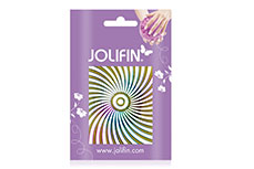 Jolifin Fancy Nail Sticker golden rainbow 2