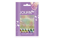Jolifin Fancy Nail Sticker golden rainbow 3