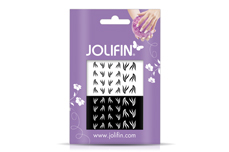 Jolifin Nailart Tattoos black and white Nr. 11